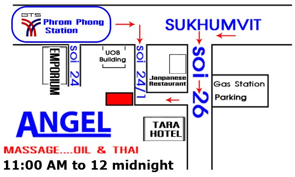 Angel Massage, Sukhumvit Soi 26